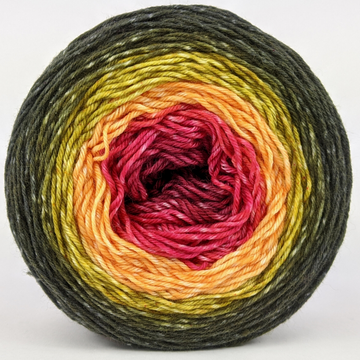 Knitcircus Yarns: Unbeleafable 100g Panoramic Gradient, Greatest of Ease, ready to ship yarn