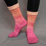 Hawaiian Sunset Panoramic Gradient Matching Socks Set (medium), Greatest of Ease, ready to ship
