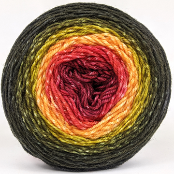 Knitcircus Yarns: Unbeleafable 100g Panoramic Gradient, Flying Trapeze, ready to ship yarn
