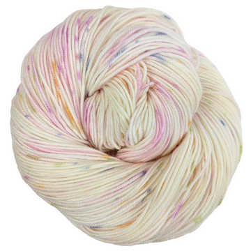 Knitcircus Yarns: Fly Little Bird 100g Speckled Handpaint skein, Trampoline, ready to ship yarn