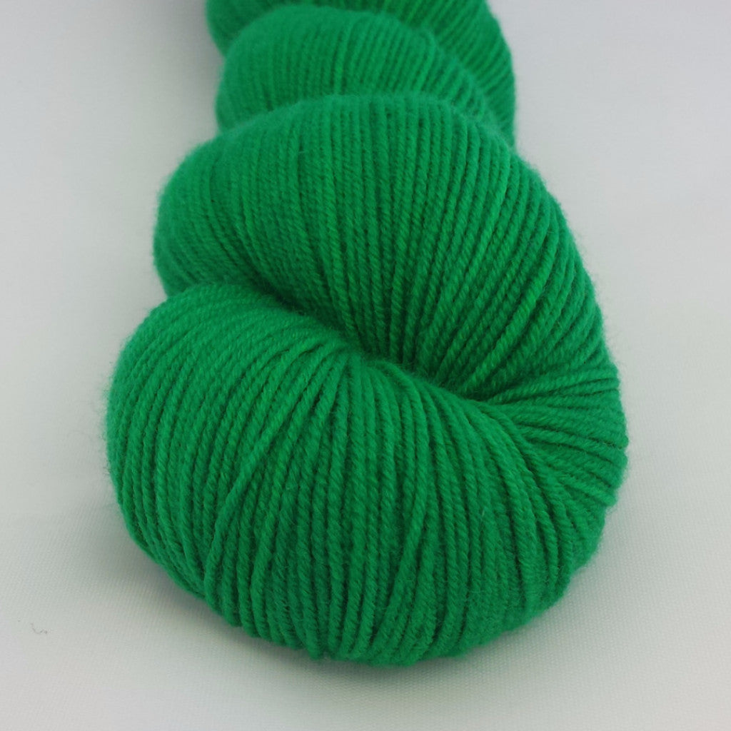 Never Go Against a Sicilian When Death is on the Line Kettle-Dyed Semi-Solid skeins, dyed to order