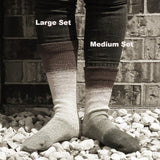 The Can Can Can Panoramic Gradient Matching Socks Set (medium), Greatest of Ease, ready to ship