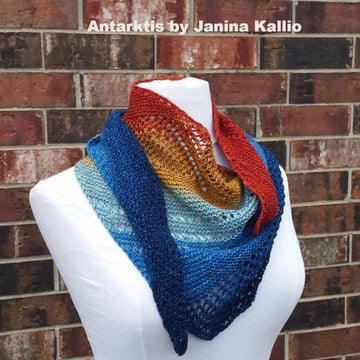 Pattern - Antarktis, by Janina Kallio, ready to ship