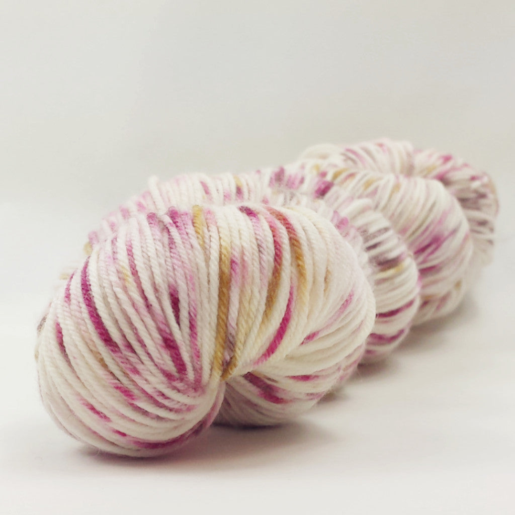 Professor Plum In The Study Speckled Handpaint, dyed to order