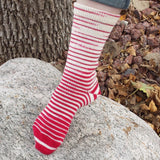 Badger Tracks Gradient Striped Matching Socks Set, dyed to order