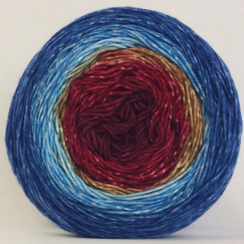 Allons-Y Panoramic Gradient, dyed to order