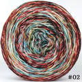 Knitcircus Yarns: Harvest Moon 100g Modernist, Flying Trapeze, choose your cake, ready to ship yarn