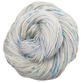 Knitcircus Yarns: Whiskers On Kittens 100g Speckled Handpaint skein, Flying Trapeze, ready to ship yarn