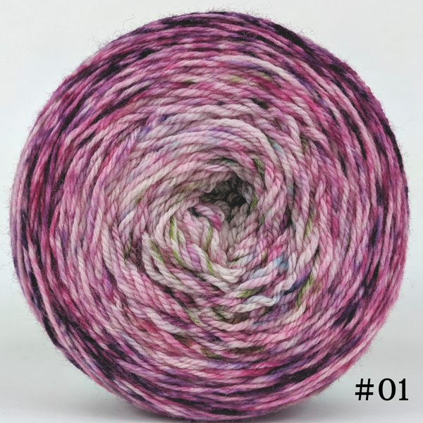 Knitcircus Yarns: Many Happy Returns 100g Impressionist Gradient, Flying Trapeze, choose your cake, ready to ship yarn