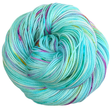 Knitcircus Yarns: We Scare Because We Care 100g Speckled Handpaint skein, Opulence, ready to ship yarn
