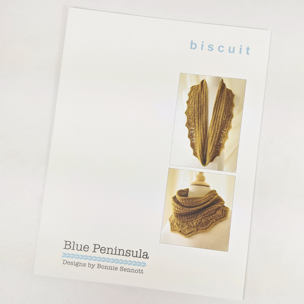 Pattern - Biscuit by Bonnie Sennott, ready to ship