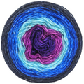 Knitcircus Yarns: Stargazing 100g Panoramic Gradient, Breathtaking BFL, ready to ship yarn