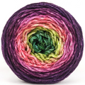 Knitcircus Yarns: Just Beet It 100g Panoramic Gradient, Ringmaster, ready to ship yarn