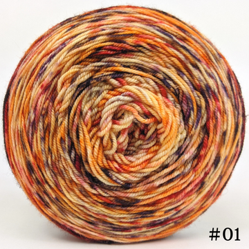 Knitcircus Yarns: En Fuego 100g Modernist, Trampoline, choose your cake, ready to ship yarn