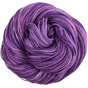 Knitcircus Yarns: Incandescently Happy 100g Speckled Handpaint skein, Greatest of Ease, ready to ship yarn