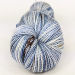Knitcircus Yarns: The Beacons Are Lit 100g Speckled Handpaint skein, Opulence, ready to ship yarn