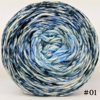 Knitcircus Yarns: Cumulonimbus 100g Impressionist Gradient, Ringmaster, choose your cake, ready to ship yarn
