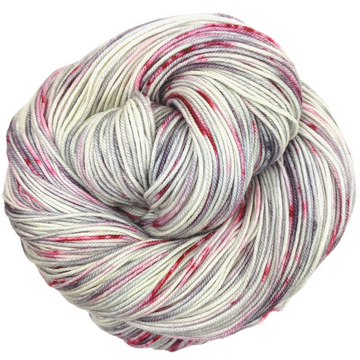 Knitcircus Yarns: Tainted Love 100g Speckled Handpaint skein, Trampoline, ready to ship yarn - SALE