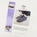 Pattern - Flue Socks by Lindsey Stephens, ready to ship