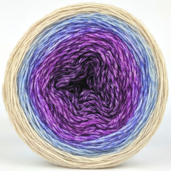 Knitcircus Yarns: The Miss Bennets 100g Panoramic Gradient, Breathtaking BFL, ready to ship yarn