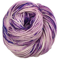 Knitcircus Yarns: Know Your Own Happiness 100g Speckled Handpaint skein, Divine, ready to ship yarn