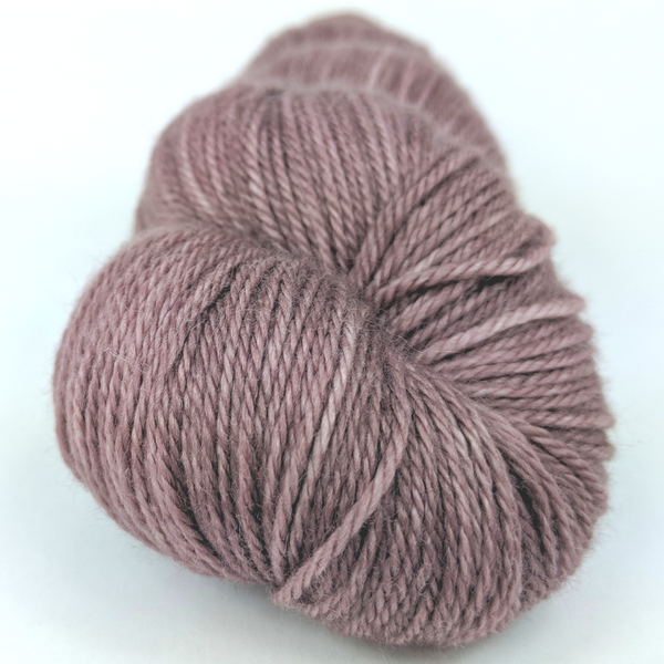 Knitcircus Yarns: Semi-Sweet 100g Kettle-Dyed Semi-Solid skein, Opulence, ready to ship yarn