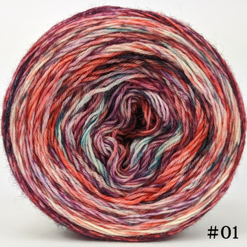 Knitcircus Yarns: Choose Your Own Adventure 100g Modernist, Breathtaking BFL, choose your cake, ready to ship yarn