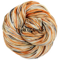 Knitcircus Yarns: Trick or Treat Speckled Handpaint Skeins, dyed to order yarn