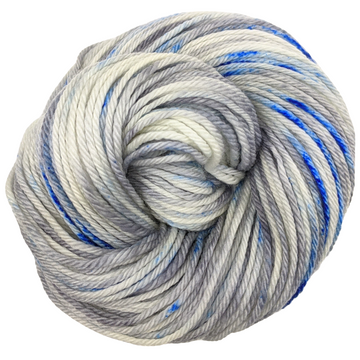Knitcircus Yarns: Fishing in Quebec 100g Speckled Handpaint skein, Ringmaster, ready to ship yarn