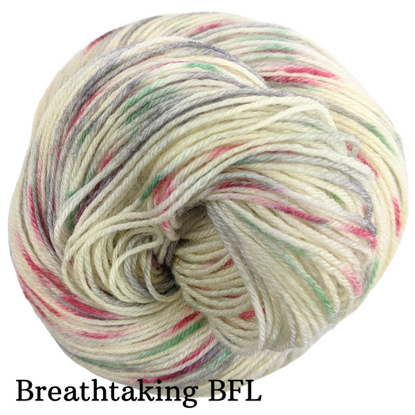 Knitcircus Yarns: Tis the Season Speckled Handpaint Skeins, dyed to order yarn