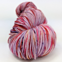 Knitcircus Yarns: Make Like a Tree Variation 100g Speckled Handpaint skein, various bases, ready to ship yarn - SALE