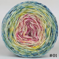 Knitcircus Yarns: Bohemian Rhapsody 100g Impressionist Gradient, Flying Trapeze, choose your cake, ready to ship yarn - SALE