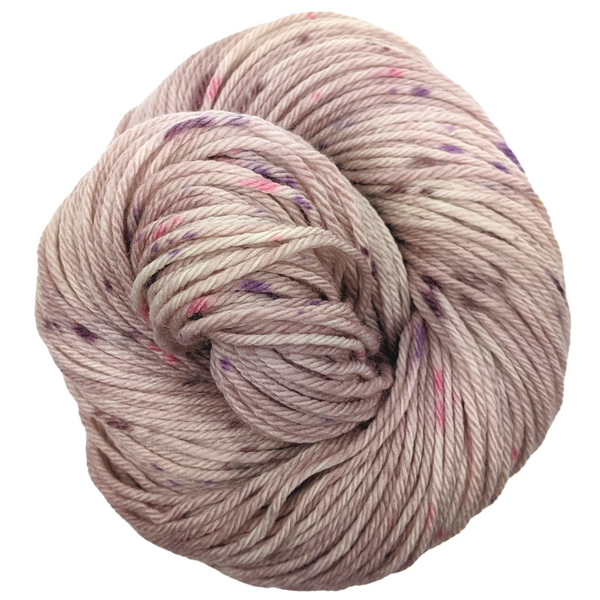 Knitcircus Yarns: Fig and Prosciutto 100g Speckled Handpaint skein, Ringmaster, ready to ship yarn - SALE