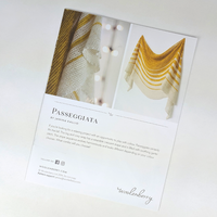 Pattern - Passeggiata, by Janina Kallio, ready to ship
