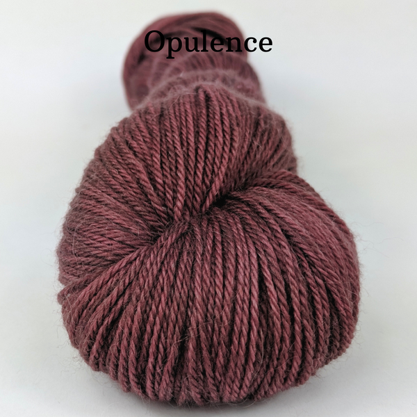 Knitcircus Yarns: Blufftop Kettle-Dyed Semi-Solid skeins, dyed to order yarn