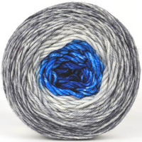Knitcircus Yarns: Breath of Fresh Air 100g Panoramic Gradient, Divine, ready to ship yarn - SALE