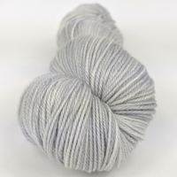 Knitcircus Yarns: Silver Lining 100g Kettle-Dyed Semi-Solid skein, Flying Trapeze, ready to ship yarn