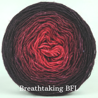 Knitcircus Yarns: Vampire Boyfriend Chromatic Gradient, dyed to order yarn