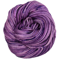 Knitcircus Yarns: Incandescently Happy 100g Speckled Handpaint skein, Ringmaster, ready to ship yarn