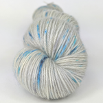 Knitcircus Yarns: Whiskers On Kittens 100g Speckled Handpaint skein, Breathtaking BFL, ready to ship yarn