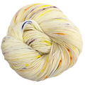 Knitcircus Yarns: Busy Bee 100g Speckled Handpaint skein, Spectacular, ready to ship yarn