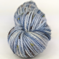 Knitcircus Yarns: The Beacons Are Lit 100g Speckled Handpaint skein, Ringmaster, ready to ship yarn