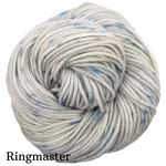 Knitcircus Yarns: Whiskers On Kittens Speckled Handpaint Skeins, dyed to order yarn