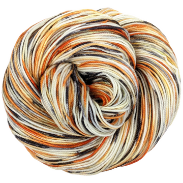 Knitcircus Yarns: Trick or Treat 100g Speckled Handpaint skein, Trampoline, ready to ship yarn