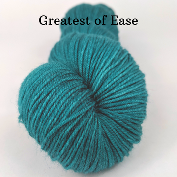 Knitcircus Yarns: Leapfrog Kettle-Dyed Semi-Solid skeins, dyed to order yarn