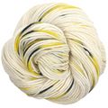 Knitcircus Yarns: Flight of the Bumblebee 100g Speckled Handpaint skein, Daring, ready to ship yarn