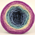 Knitcircus Yarns: Berry Pleased to Meet You 100g Panoramic Gradient, Breathtaking BFL, ready to ship yarn