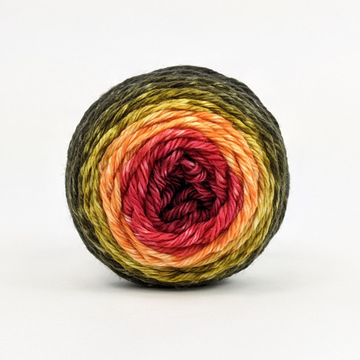 Knitcircus Yarns: Unbeleafable 50g Panoramic Gradient, Ringmaster, ready to ship yarn