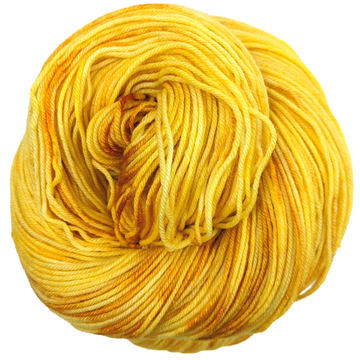 Knitcircus Yarns: Yellow Brick Road 100g Kettle-Dyed Semi-Solid skein, Greatest of Ease, ready to ship yarn