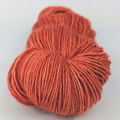 Knitcircus Yarns: Rhymes With Orange 100g Kettle-Dyed Semi-Solid skein, Spectacular, ready to ship yarn